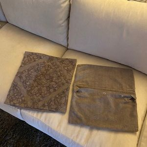 Pottery Barn Pillow covers 18x18